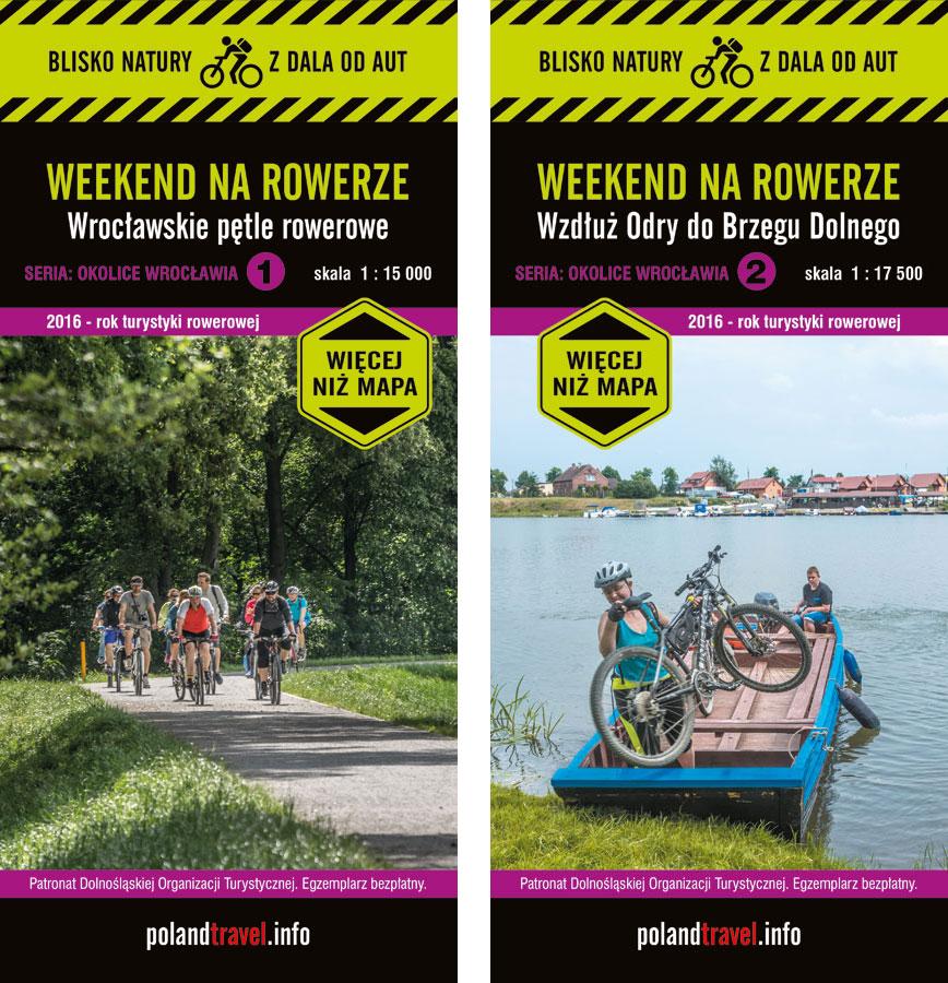 mapy rowerowe - okolice Wrocławia