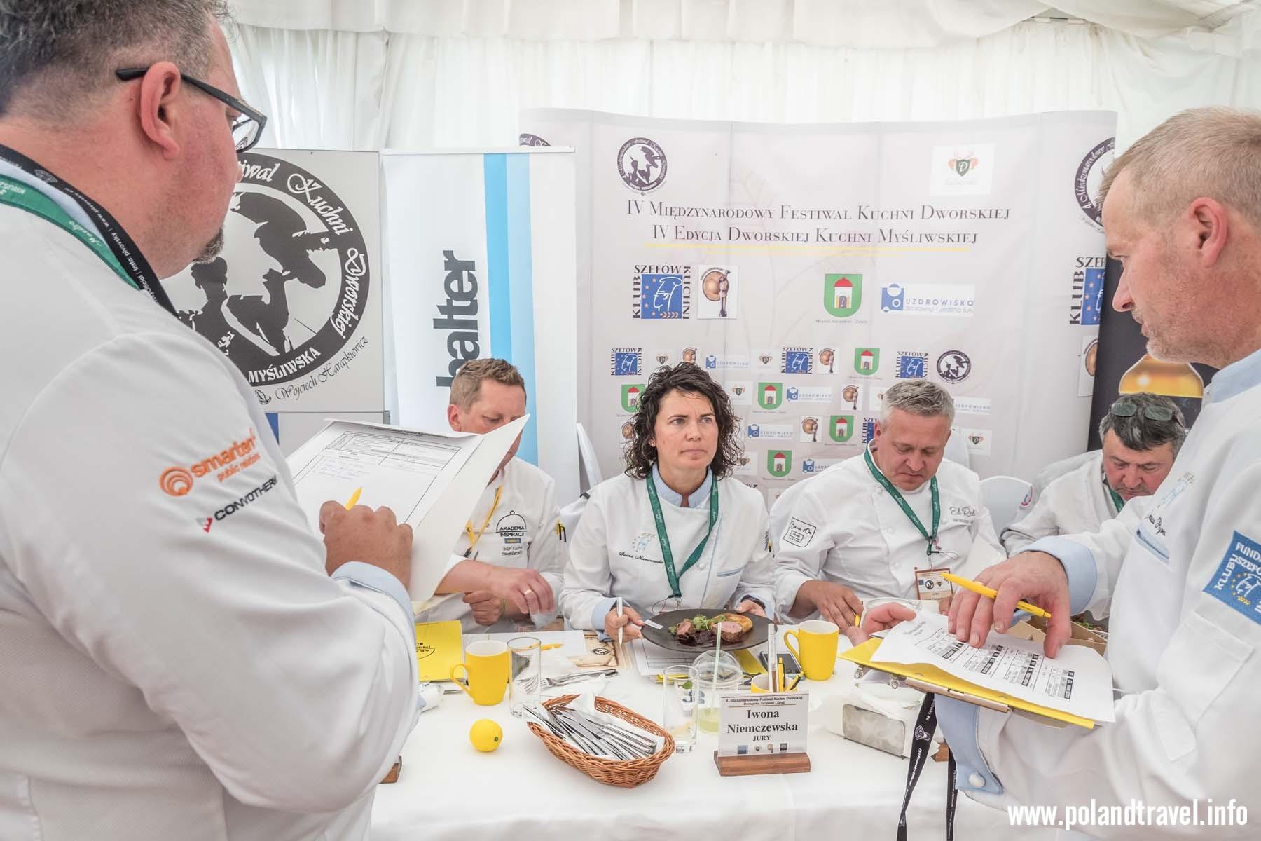 Szczawno Zdrój, Festiwal Kuchni Dworskiej, Konkurs Dworskiej Kuchni Myśliwskiej